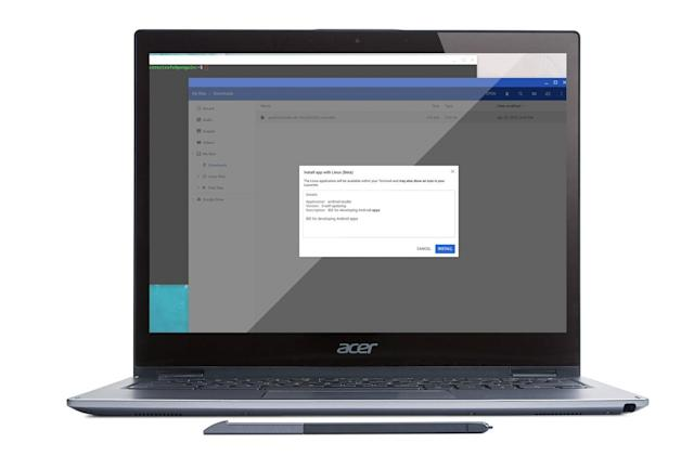 Google is making it easier to build Android apps on a Chromebook