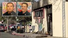 Two kids, 13, charged with murder over arson fire that killed two firefighters