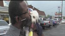 Indy man reunited with dog missing since November
