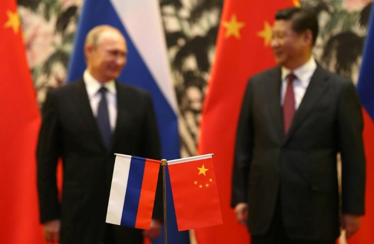 "Chinese President Xi Jinping has described Vladimir Putin as his ""best friend"" and the partnership between Moscow and Beijing is moving beyond mere economic cooperation"