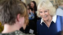 Camilla urges domestic violence victims to speak out