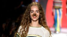 The Desigual NYFW Show Just Featured Snapchat Filters IRL