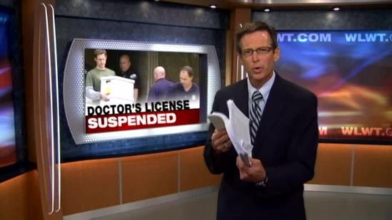 NKY doctor's license suspended after raid