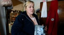 Ukraine rebel's widow finds husband's remains by road five years on