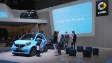 Mercedes svela nuova Classe A, GT AMG e Smart EQ