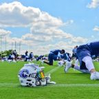 Titans First Practice with Panthers