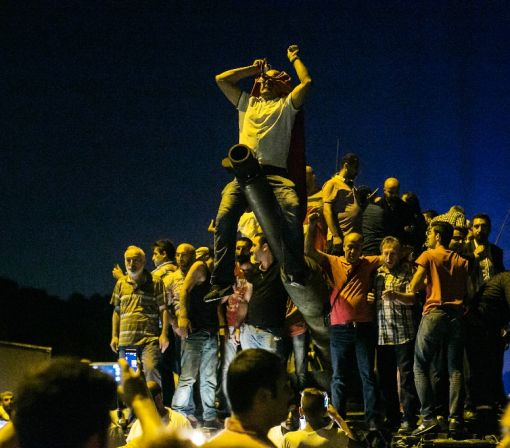 Erdogan's mass appeal saved him on coup night