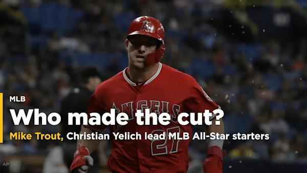 check out c9105 ca287 MLB announces starters for All-Star Game in Cleveland