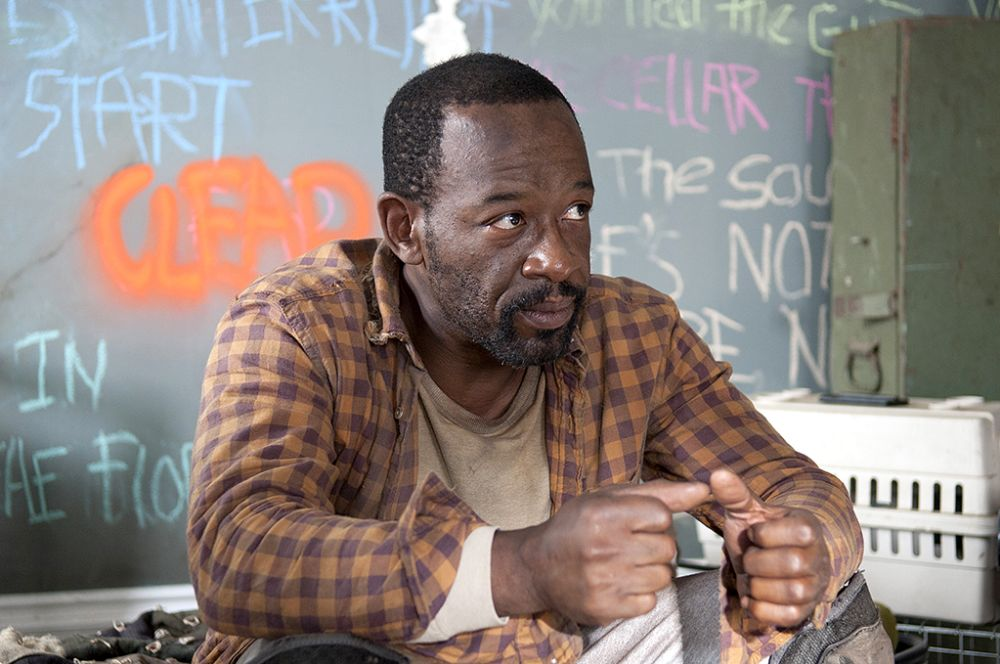 Lennie James as Morgan in AMC's The Walking Dead.