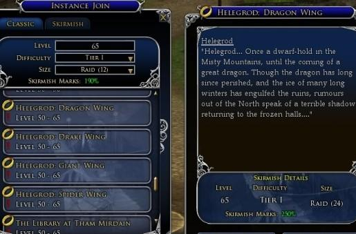 LotRO dev diary dishes on scaled instance rewards
