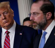 Health Secretary Alex Azar uses resignation letter to fire warning at Trump that the Capitol siege threatens to 'tarnish' the administration's accomplishments