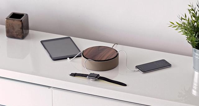 Native Union made a USB hub that blends into your home