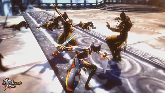 Here are three Legend of the Condor Heroes: Zero vids