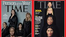 The feminist symbolism connecting recent 'Time' covers is pretty powerful