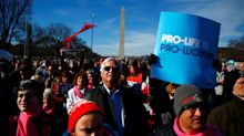 Anti-abortion activists rally in annual 'March for Life' in Washington