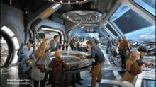 New art shows that Disney's 'Star Wars' resort will be the closest thing to living in a galaxy far, far away
