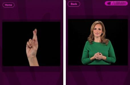 Marlee Signs teaches you sign language in your spare time