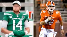 Sam Darnold looks beaten down as Trevor Lawrence looms for Jets