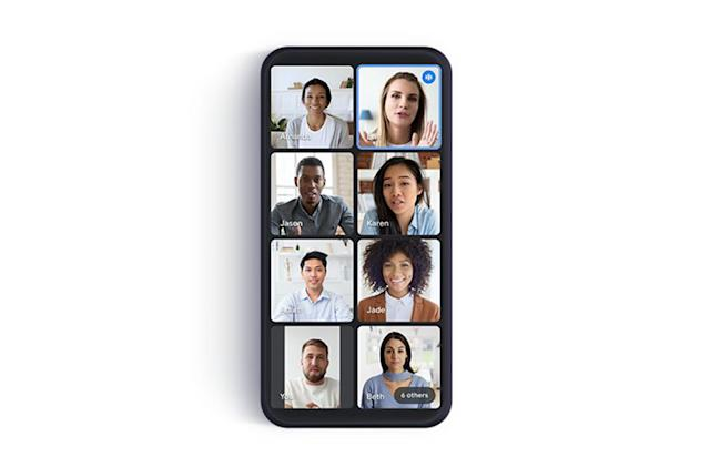Google Meet update crams more people into your mobile video calls
