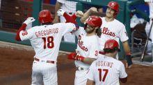 Phillies hit 5 homers to back Aaron Nola, beat Braves 13-8