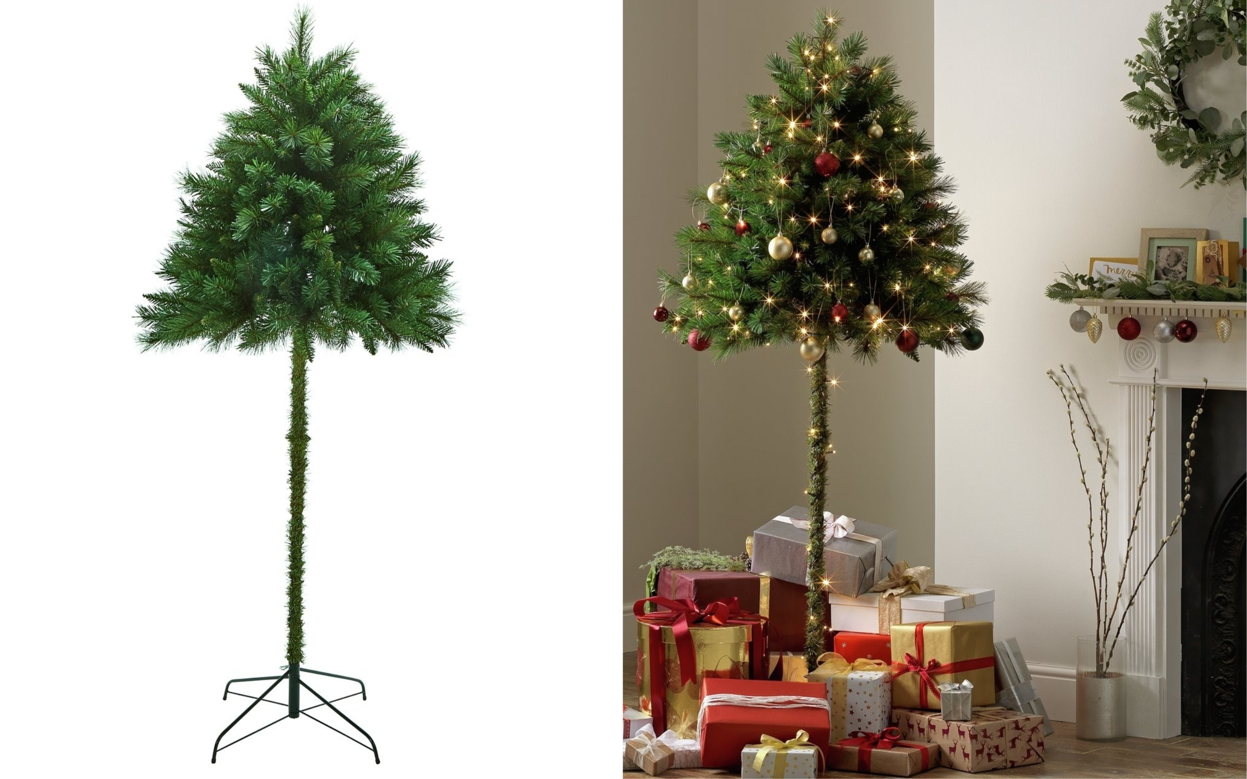 Argos launches parasol Christmas trees for cats and children