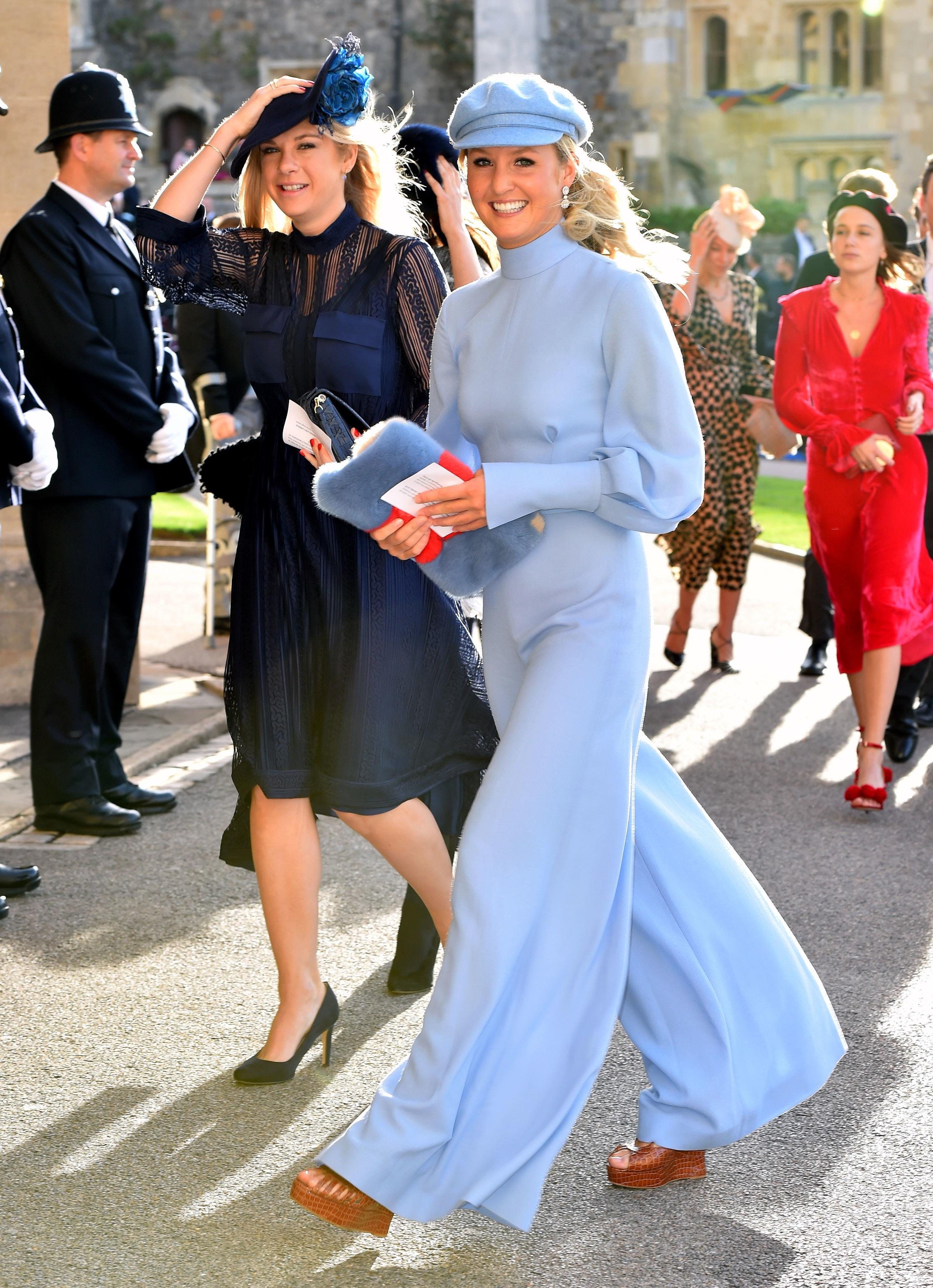 Chelsy Davy Wore Very Similar Outfit For Both Royal Weddings