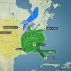 Snow, rain and wind in late-week storm to impact holiday travel in eastern US
