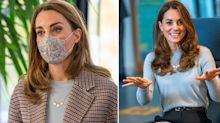 Duchess of Cambridge wears trendy checked coat for uni visit: Get the look for less