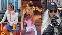 Rafaella Santos, irmã de Neymar, é pura ostentação com peças de R$ 12 mil