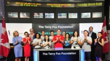 The Terry Fox Foundation Closes the Market