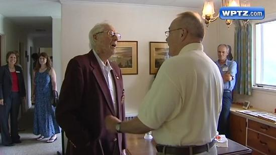 Norwich honors oldest living graduate for lifetime of giving