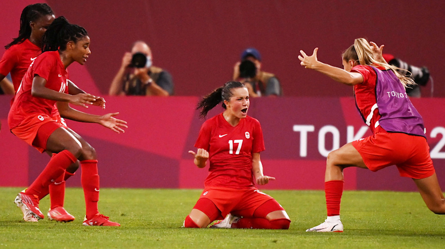 Canada slays USA for historic Olympic soccer win
