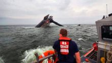 Search to end for 8 missing crew members from capsized boat in Gulf, Coast Guard says