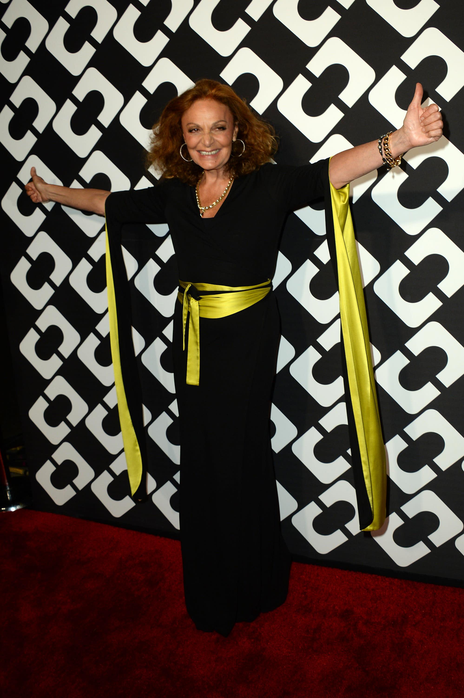 63b2d9b213d0d Diane Von Furstenberg celebrates wrap dress' 40th