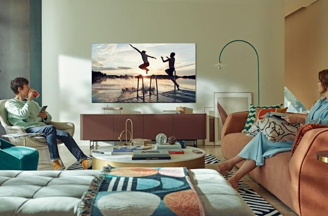 Samsung's 4K and 8K Neo QLED TVs are powered by Mini-LEDs