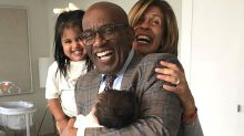 Al Roker Meets Hoda Kotb's New Daughter and Calls Her 'The Reason I Can't Stop Smiling'