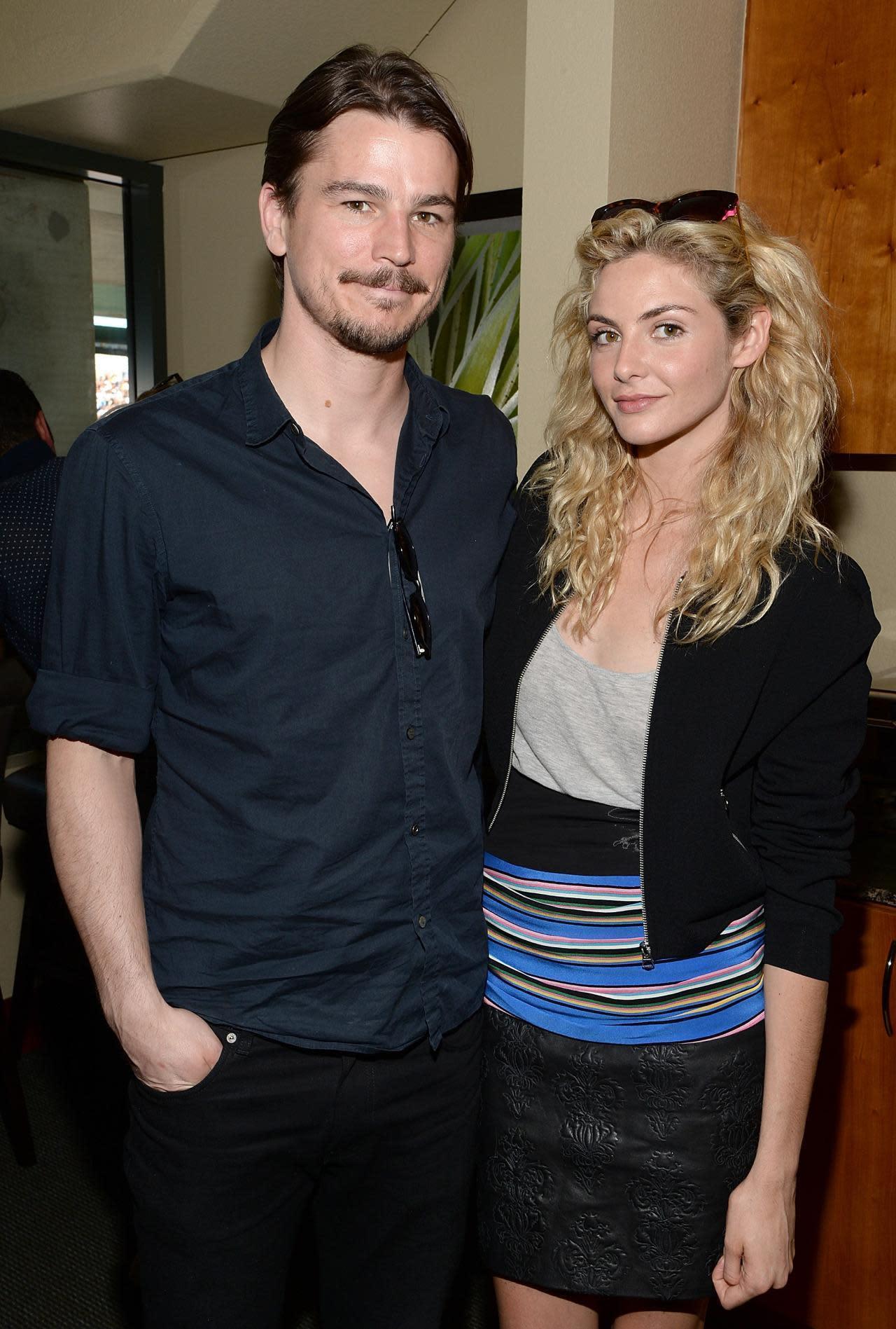 Josh Hartnett and His Girlfriend Tamsin Egerton Welcome ... |Josh Hartnett Tamsin Egerton