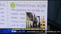 CEO celebrates one year of helping former inmates get jobs