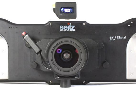 Seitz 6x17 Digital shoots at 160 megapixels