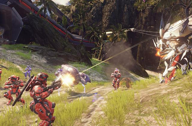 'Halo 5' card system gives you a leg up in multiplayer mayhem