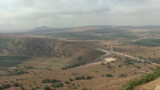 Golan Heights still object of tension between Israel and Syria