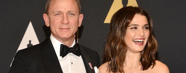 Rachel Weisz  Daniel Craig (getty)