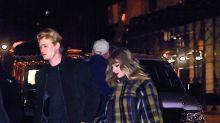 Taylor Swift en público con su novio