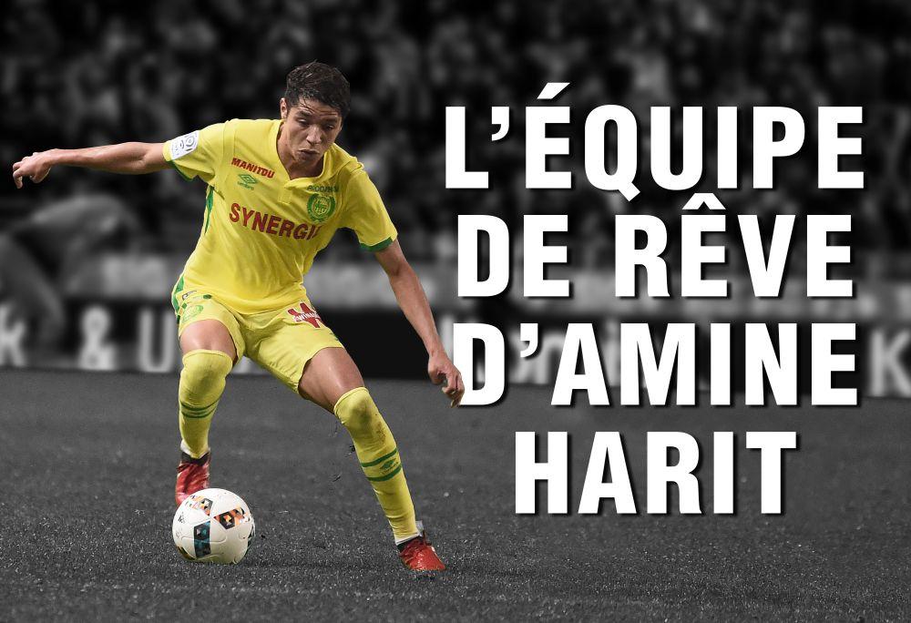 VIDÉO - Zidane en 10, avec CR7 mais sans Messi : Amine Harit vous présente son équipe de rêve