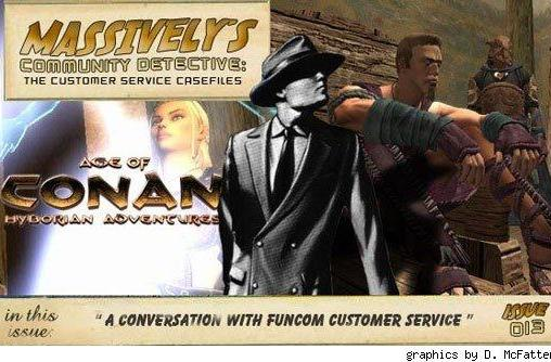 Community Detective Issue #13: A conversation with Funcom customer service