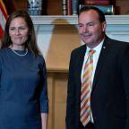 Amid rush to confirm Barrett to court, two key Republican senators test positive for COVID-19