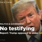 Washington Post: Trump opposed to aides testifying to Congress about Mueller report