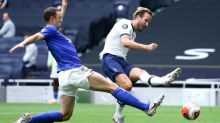 Harry Kane double lifts Tottenham and dents Leicester's top-four hopes