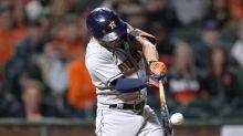 Altuve hits grand slam on 2-homer night, Astros beat Giants