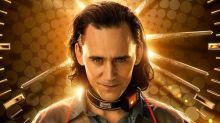 Tom Hiddleston on What the LOKI Logo Means